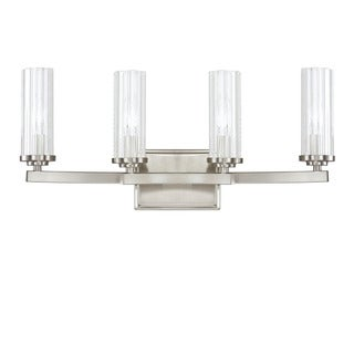 Capital Lighting Donny Osmond Emery Collection 4-light Brushed Nickel Bath/ Vanity Light