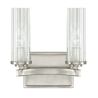 Capital Lighting Donnie Osmond Emery Collection 2-light Brushed Nickel Bath/ Vanity Light