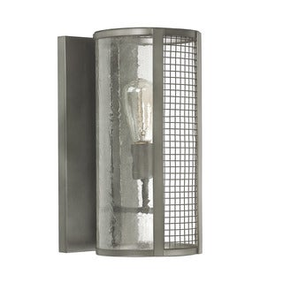 Capital Lighting Donny Osmond Davis Collection 1-light Graphite Wall Sconce