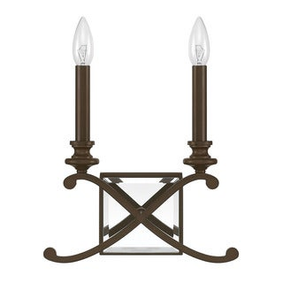Capital Lighting Donny Osmond Alexander Collection 2-light Winter Gold Wall Sconce