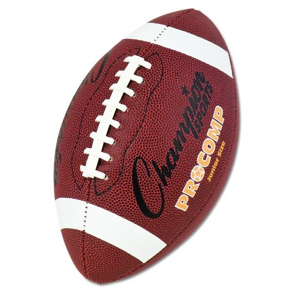 Champion Sports Brown Pro Composite Junior Size Football
