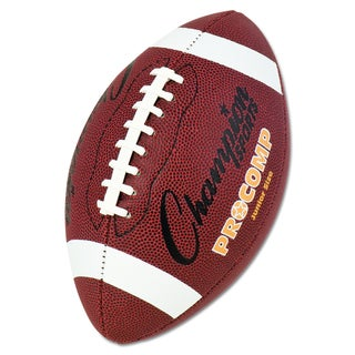 Champion Sports Brown Pro Composite Junior Size Football