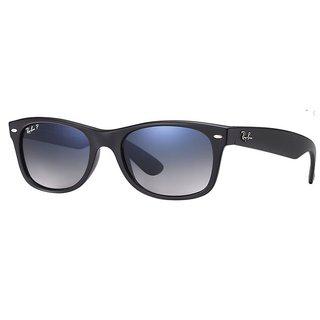 Ray-Ban RB2132 New Wayfarer Black Polarized Sunglasses