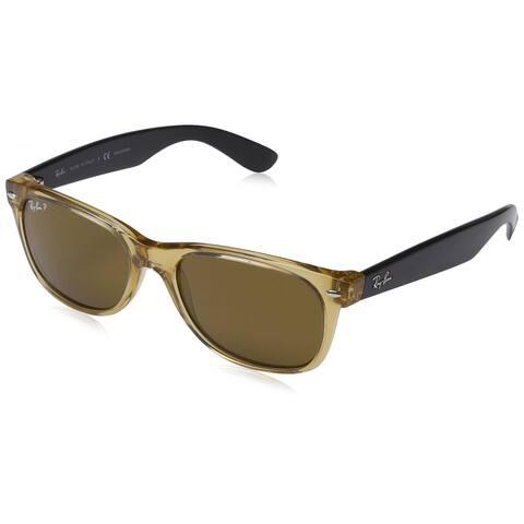 b7e4417c71 Ray-Ban RB2132 New Wayfarer Polarized Lenses Sunglasses