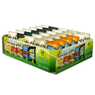 Frito-Lay Baked & Popped Mix Variety Pack (Pack of 30 bags)