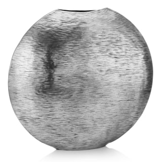 Gordo Large Silver Metallic Vase