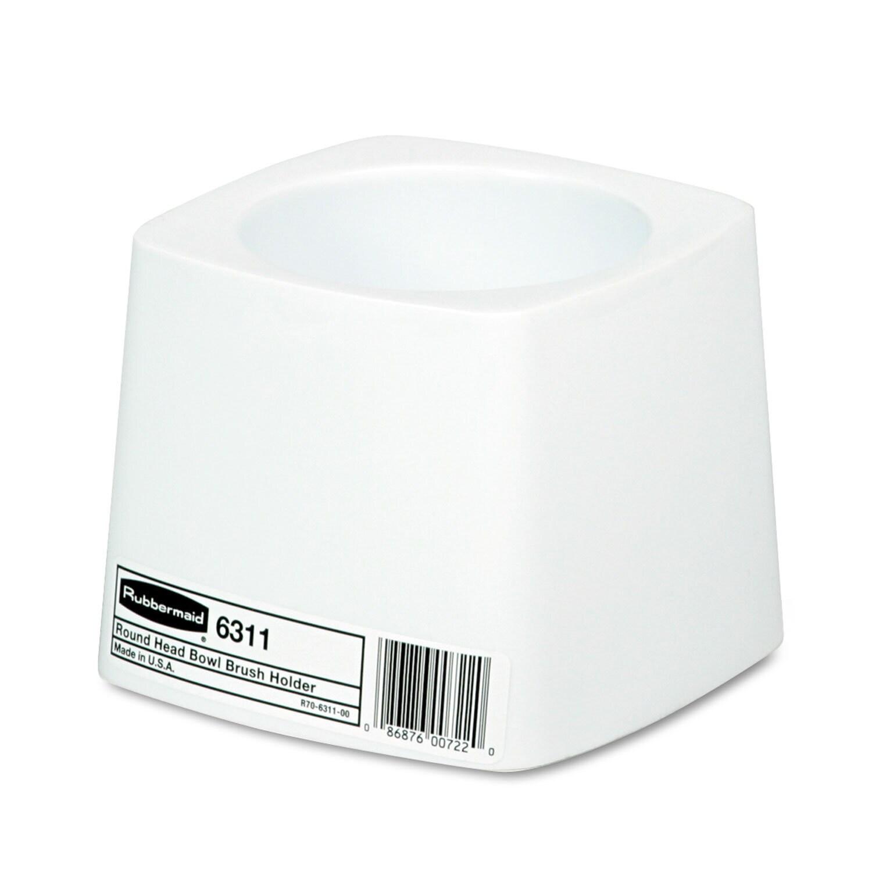 Rubbermaid Commercial White Plastic Holder for Toilet Bow...