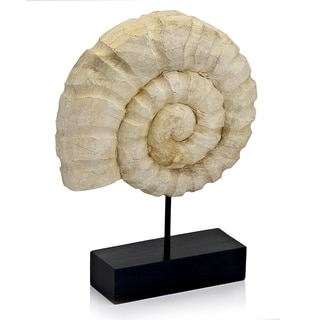 Nautilo Shell on Stand Sculpture