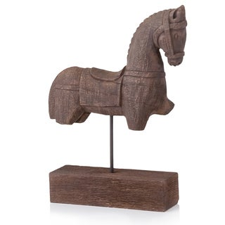 Siglo Trojan Horse on Stand Sculpture