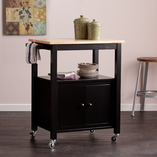 Harper Blvd Kitney Black Kitchen Cart