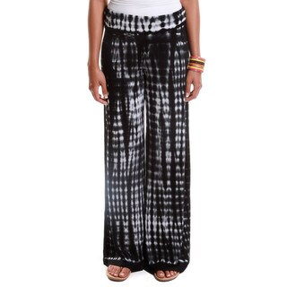 Hadari Women's Contemporary Tie-Dye Palazzo Pants