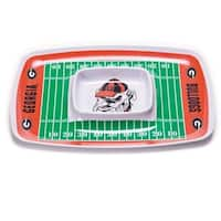 Georgia Bulldogs Chip and Dip Tray