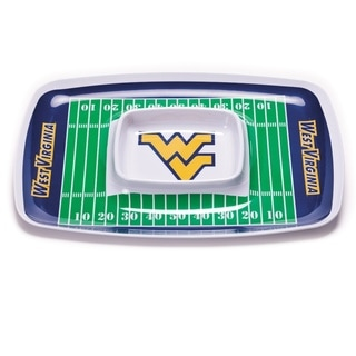 West Virginia Mountaineers Chip and Dip Tray