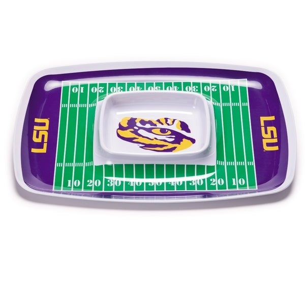 LSU Tigers Chip and Dip Tray