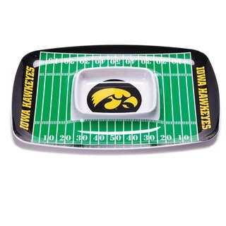 Iowa Hawkeyes Chip and Dip Tray
