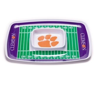 Clemson Tigers Chip and Dip Tray
