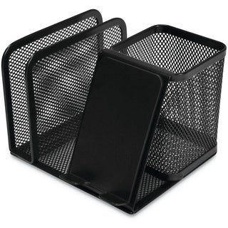 Universal One Black Mesh Desk Organizer (Pack of 4)