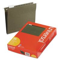 Universal Standard Green Hanging File Folders (2 Packs of 25)