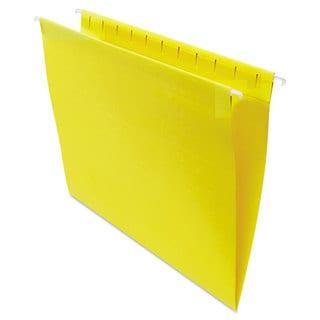 Universal One Yellow Hanging File Folders (2 Packs of 25)