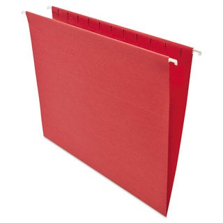 Universal One Red Hanging File Folders (2 Packs of 25)