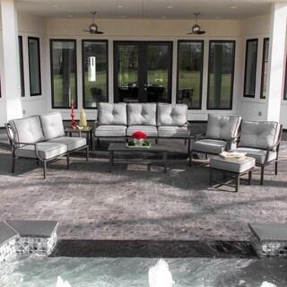Audubon 7-person Aluminum Patio Deep Seating Set