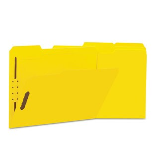 Universal One Yellow Manila Folders (Box of 50)