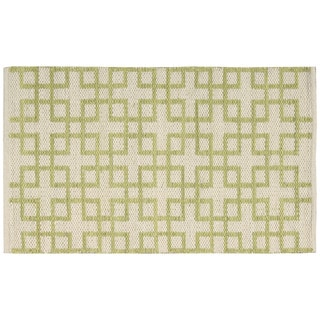 Barclay Butera Maze Beige Green Area Rug by Nourison (2'3 x 3'9)