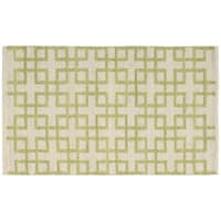 Barclay Butera Maze Beige Green Area Rug by Nourison (2'3 x 3'9)