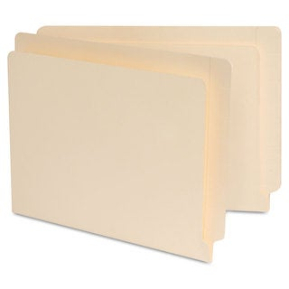 Universal Manila Reinforced Shelf Folder (Box of 100)