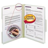 Smead Gray Green Three Inch Expansion Fastener Folder (Box of 25)