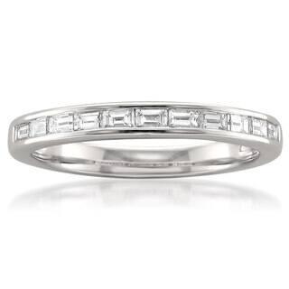 Montebello Platinum 1/2ct TDW Baguette-cut White Diamond Channel-set Wedding Band|https://ak1.ostkcdn.com/images/products/10400742/P17502810.jpg?impolicy=medium