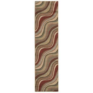 Nourison Rhythm Multicolor Runner Rug (1'11 x 7'6)