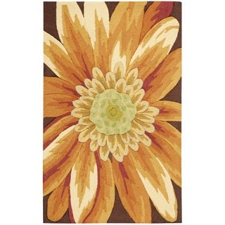 Nourison Fantasy Yellow Accent Rug (2'6 x 4)