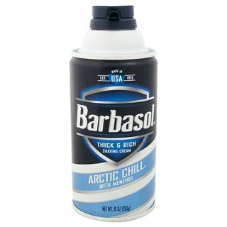 Barbasol Arctic Chill Thick & Rich 10-ounce Shaving Cream|https://ak1.ostkcdn.com/images/products/10400848/P17502956.jpg?impolicy=medium