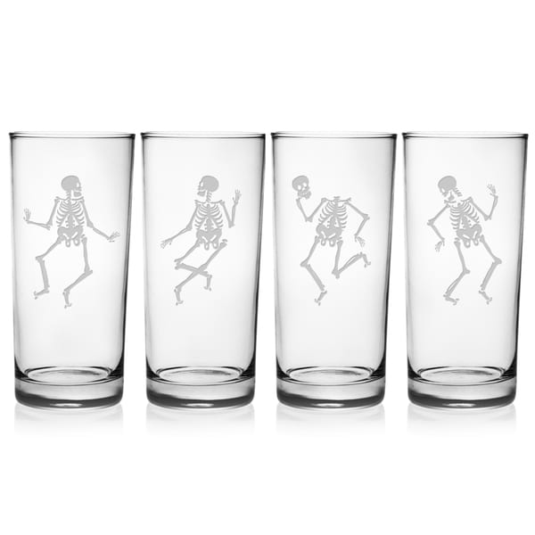 Dance of the Dead Hiball Glass (Set of 4)