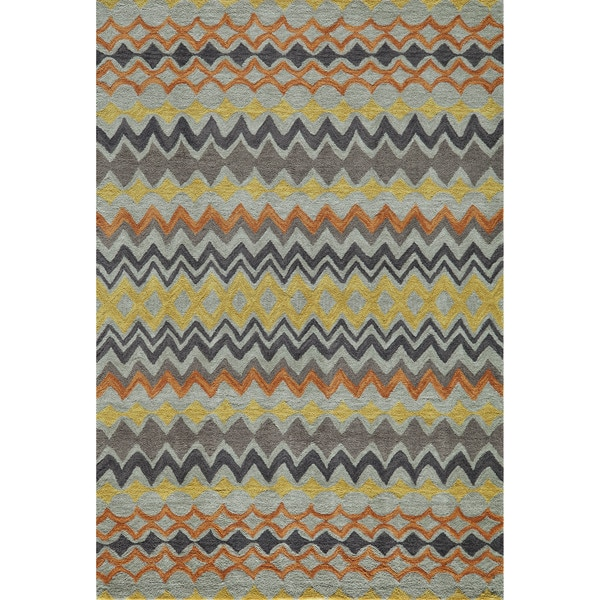 Momeni Rio Multicolor Hand-Tufted Rug (8' x 10')
