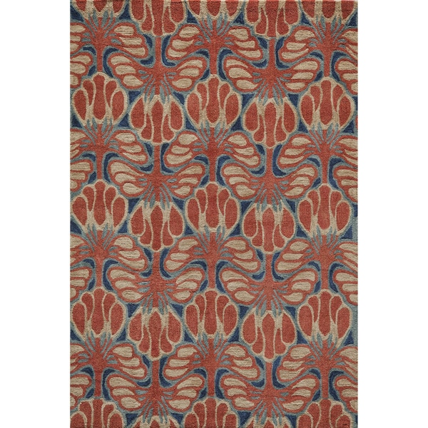 Momeni Rio Red Hand-Tufted Rug - 8' x 10'