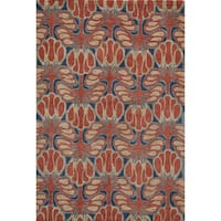 Momeni Rio Red Hand-Tufted Rug (5' X 7'6) - 5' x 7'6""