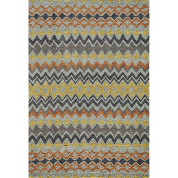 "Momeni Rio Multicolor Hand-Tufted Rug (5' x 7'6) - 5' x 7'6"""