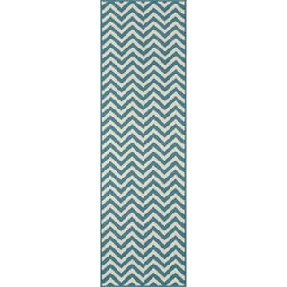 "Indoor/Outdoor Chevron Rug (2'3"" x 7'6"")"