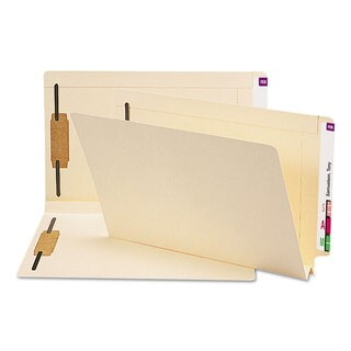 Smead Manila Heavy W-Fold Expansion Folders (Box of 50)