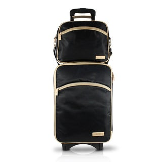 Jacki Design Essential 2-piece Carry On Rolling Luggage Set