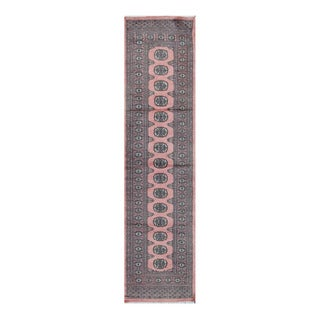 Herat Oriental Pakistani Hand-knotted Bokhara Wool Runner (2'7 x 10'2)