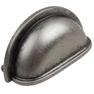 GlideRite 3-inch CC Weathered Nickel Classic Bin Pull - 3.5 x 1.5 x 1 - Weathered Nickel