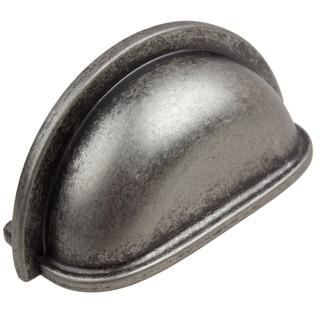 GlideRite 3-inch CC Weathered Nickel Classic Bin Pull