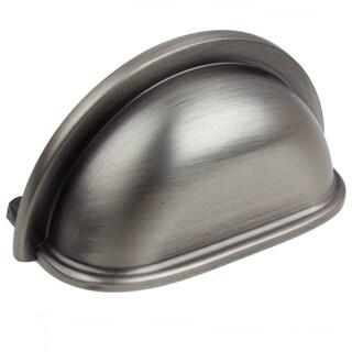 GlideRite 3-inch CC Satin Pewter Classic Bin Pull