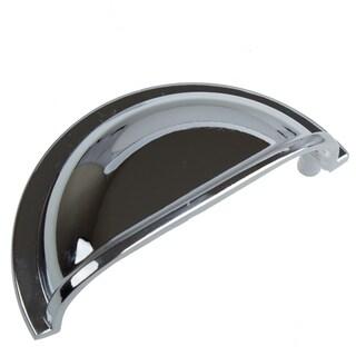 GlideRite 3-inch CC Polished Chrome Classic Bin Pull