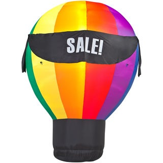 Hot Air Balloon with 4 Interchangeable Banners
