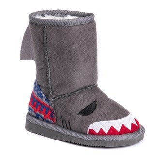 Muk Luks Kids' Finn Shark Boots (Option: 10)