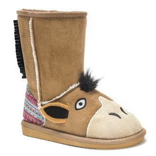 Muk Luks Kids' Scout Horse Boots